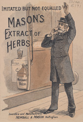 Advert For Mason's Extract Of Herbs